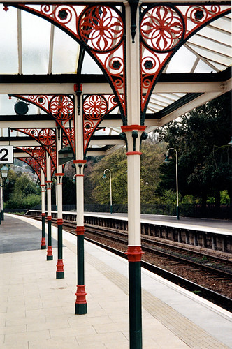 The railway station at Morecambe in England's Lake District