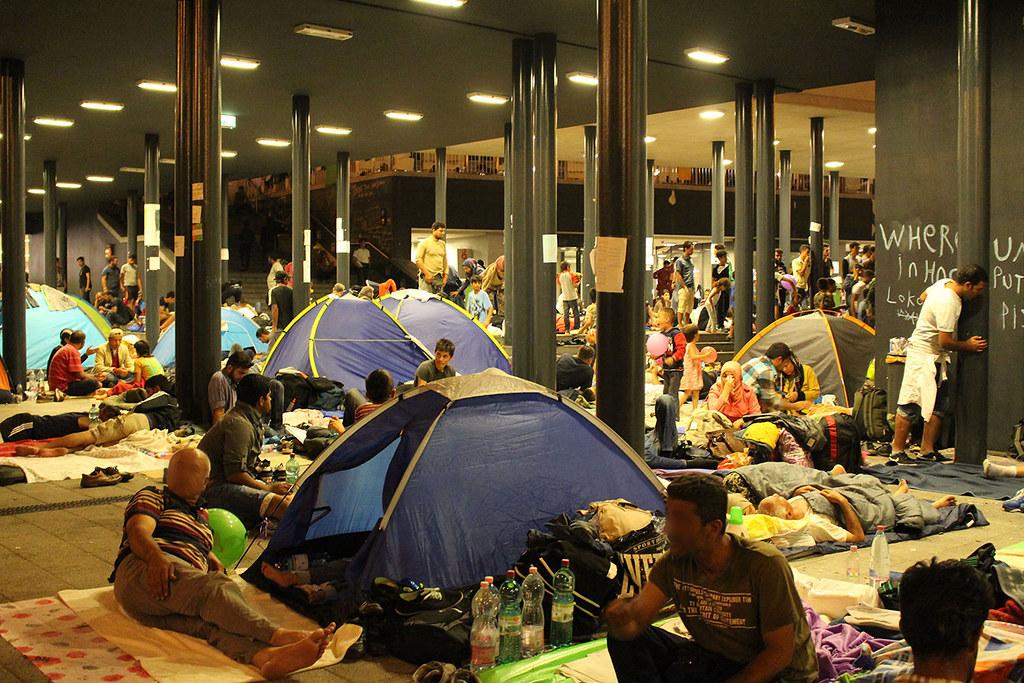 Ostbahnhof in Budapest, 03.09.2015