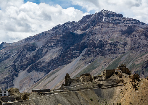 Dhankar Fort, Spiti Valley, India | by Puru Pawar