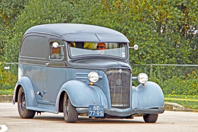 Chevrolet Panel Van Hot Rod 1937 (2370)
