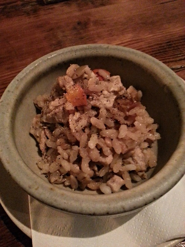 The Clove Club - Pheasant & Pumpkin Pilaf
