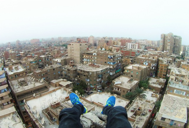 Somewhere in Cairo.