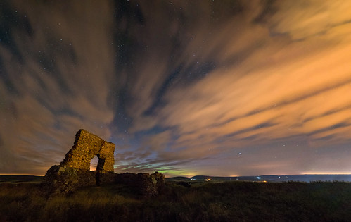 longexposure autumn sky orange history architecture night clouds stars twilight ancient streetlight arch aberdeenshire pentax streetlights space tripod north scottish astro historic astrophotography aurora stonewall universe pictish northernlights borealis insch f35 sigma1770 pictishfort k3ii