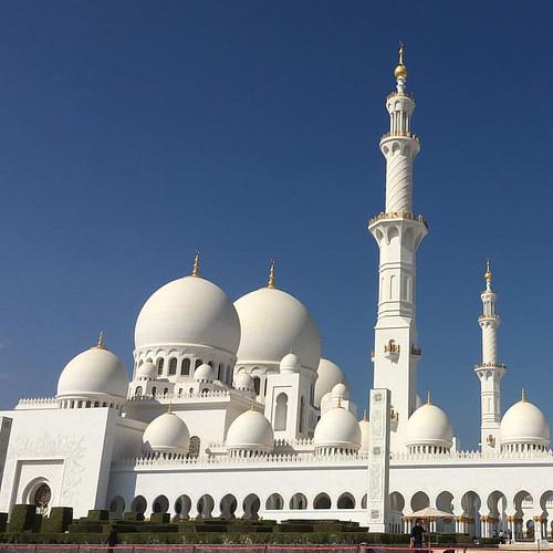 Sheikh Zayed Grand Mosque Abu Dhabi | by ToGa Wanderings