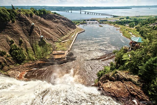 Montmorency Falls Park Overlook - Québec City (Québec, Canada)