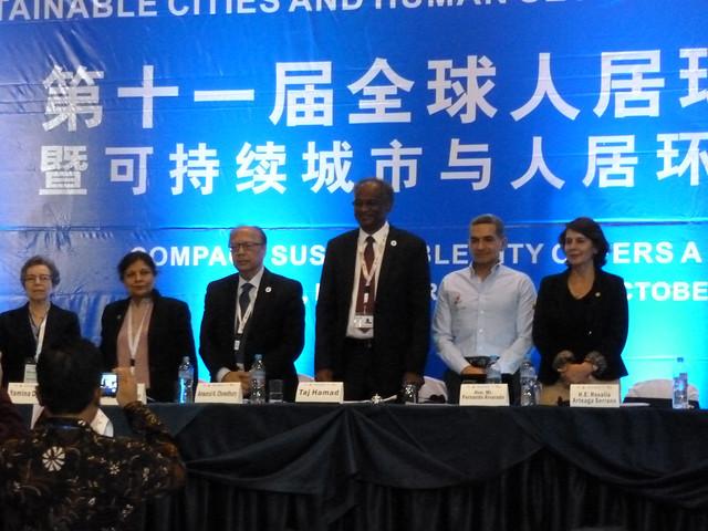 Ecuador-2016-10-20-UPF Joins Habitat III Conference in Ecuador