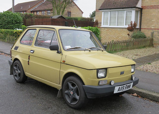 1983 Fiat 126 | by Spottedlaurel