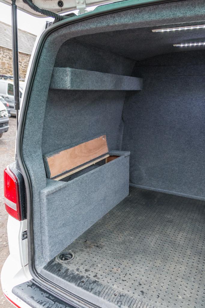 8a83aba35e ... VW Transporter T5 - Carpet Lining   LED Lights-3
