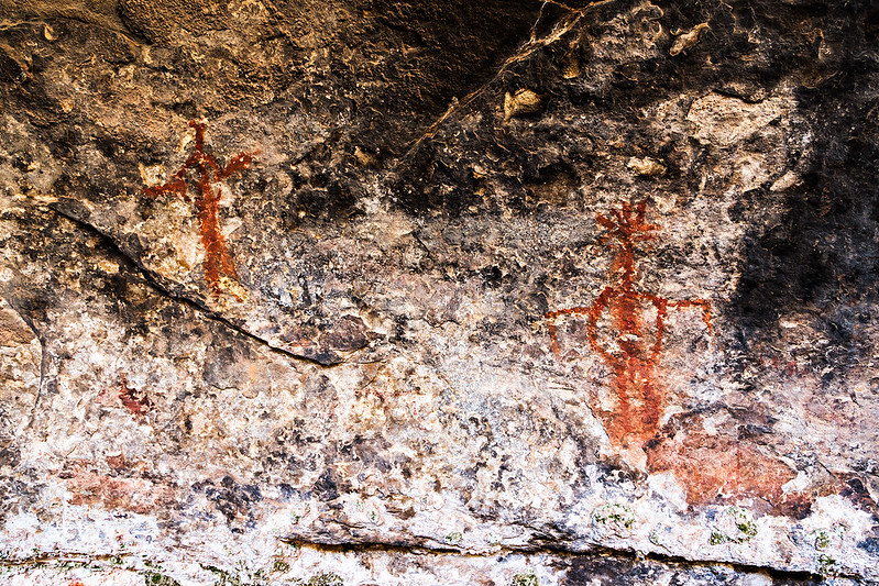 Cave Spring Pictographs