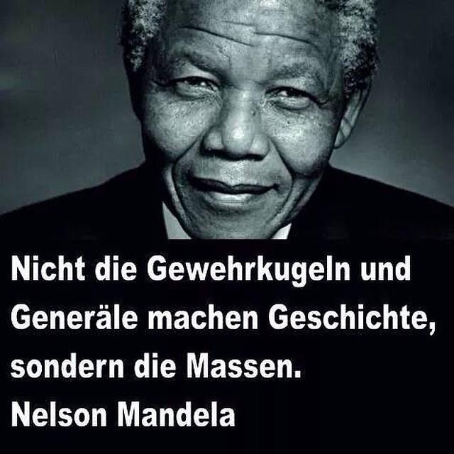 Wahre Worte Nelson Rolihlaha Mandela Anc Hoffnung