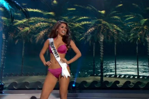 Mary Jean Lastimosa During Miss Universe Swimsuit Competition Preliminaries | by michaelhoward896