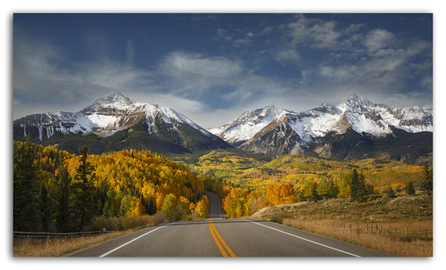 mountains fall colors sunshine colorado wilson telluride route145 coth5