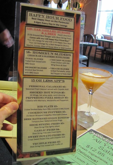 Down-Low Diner: Monterey Cookhouse