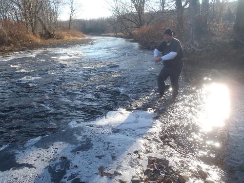 ice fieldwork hobo naturalgas freshwater waterquality sampling onset conductivity nontidal drbc