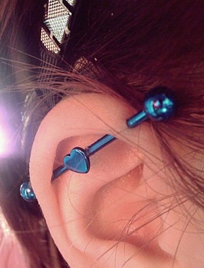 Cute Industrial Piercing Industrial Piercing By Fc01 Devia Flickr