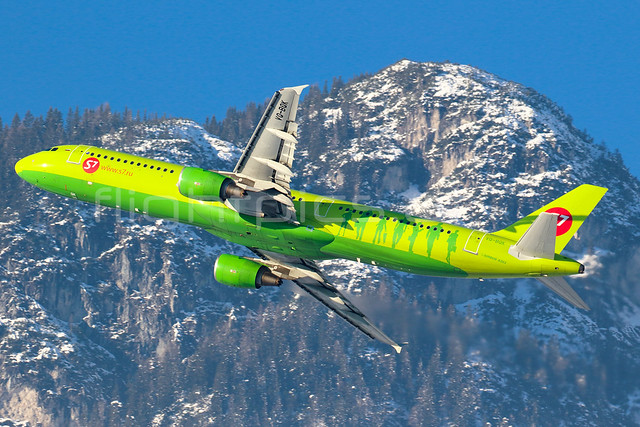 S7 - Siberia Airlines | Airbus A321-211 | VQ-BQK | Innsbruck | LOWI | January2, 2015 | www.flightpics.at