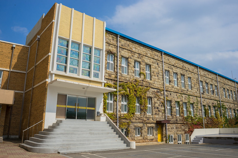 Jeongmyeong Girls' Middle School, Mokpo, South Korea