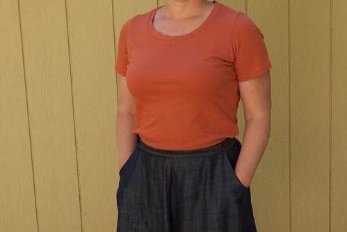 Hollyburn skirt and Renfrew tee