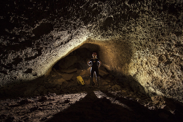 Lava Tube-Snow Canyon State Park
