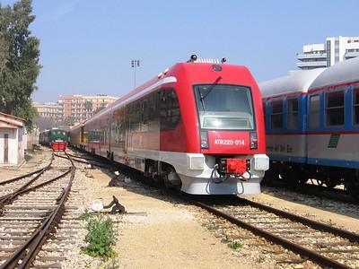 I treni delle Ferrovie del Sud Est
