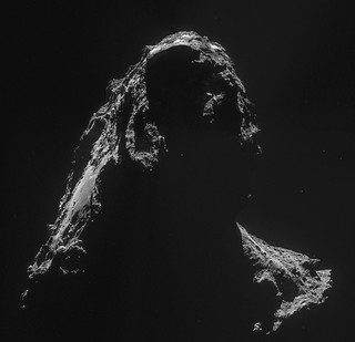 Comet 67P on 2 November – NavCam | by europeanspaceagency