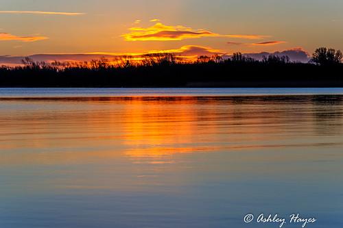 winter reflection sunrise unitedkingdom northernireland hdr waterview lurgan loughneagh countyarmagh