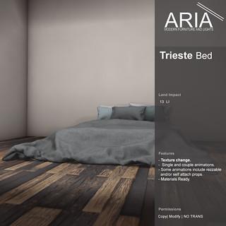 Trieste bed @ FaMESHed