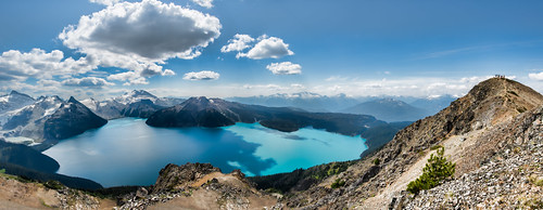Panorama from Panorama Ridge | by `James Wheeler