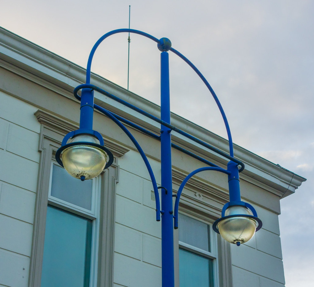 Zwolle Railway Station street light
