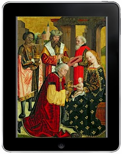 Adoration on an iPad, after Absolon Stumme 1499 | by Mike Licht, NotionsCapital.com