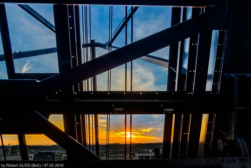 sunset luxembourg lu steelworks eschsuralzette