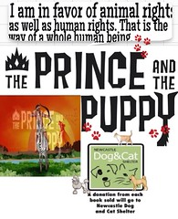 The Prince and the Puppy are Supporting animal Charities #animals#iBookstore #books #Instagram #Facebook #youtube