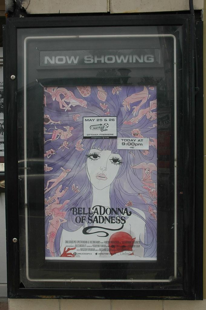 Belladonna Of Sadness Tonight At The Mayfair Osamu Tezuka Flickr