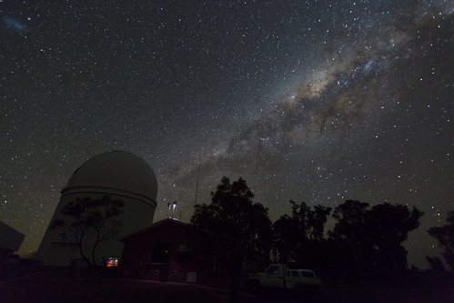 The Milky Way over the AAT