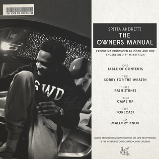Curren$y - The Owner's Manual (Back) | by fortyfps
