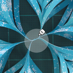วิธีทำดาวกระดาษรุปเกล็ดหิมะ สำหรับแต่งบ้าน ช่วงเทศกาลต่างๆ (Paper Snowflake DIY) 019