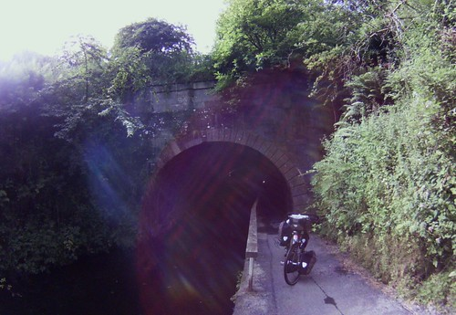 exiting Union Canal tunnel, Falkirk