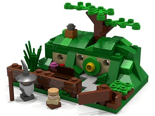 LEGO Micro Scale Bag End | by sheabricks