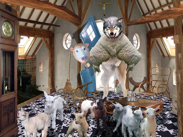Wolf in sheep's cloothing