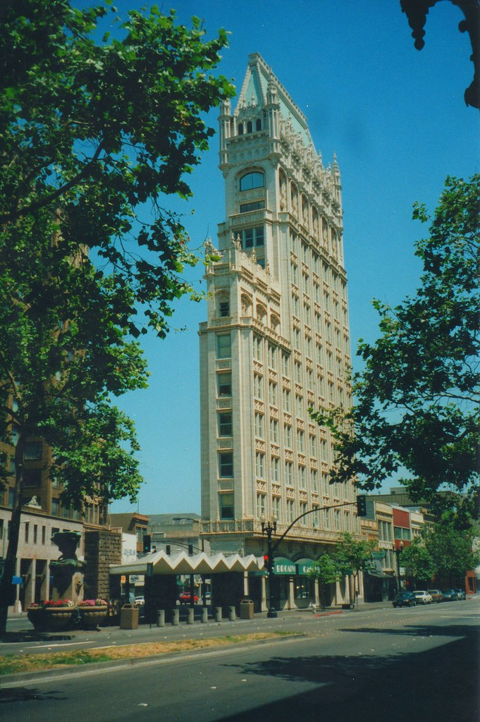 Oakland California  Ca ~ Cathedral Building ~ Historic Building ~ aka ~ Federal Realty Building  _ 1998 Film