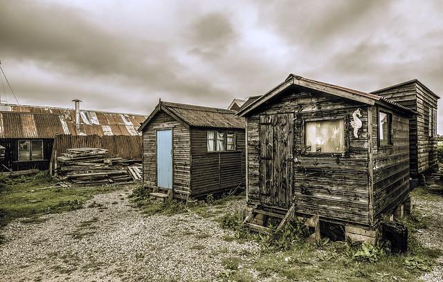 Sea-shanty town