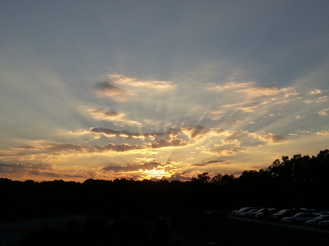 Sunset at Parkway South High School - Manchester, MO_20140925_183551