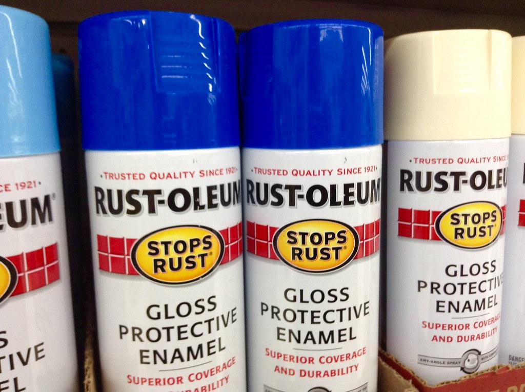RustOleum Spray Paint, 12/2014 by Mike Mozart of TheToyCha