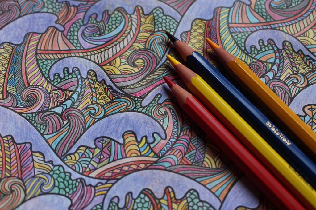 Photomarathon: Patterns   Coloring book for adults   Flickr