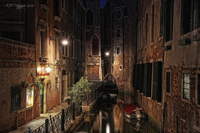 Silent night in Venice