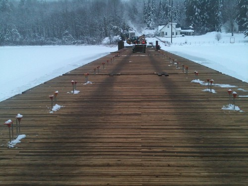 vermont timber brookfield historical decking sunsetlake floatingbridge vtrans vermontagencyoftransportation