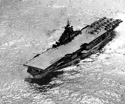 USS Hancock en Filipinas