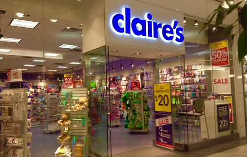 Claire's Store | by JeepersMedia