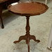 Circular wine table