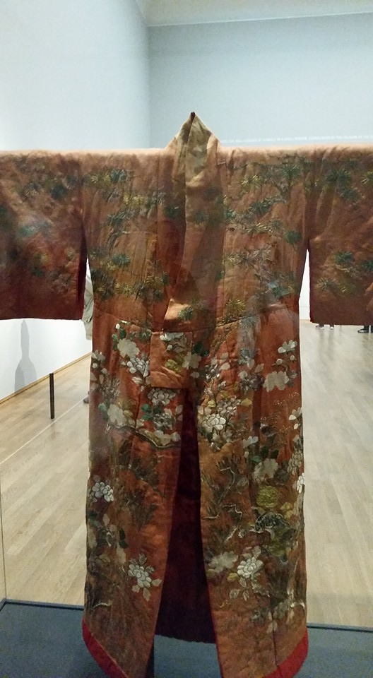 The kimono Gessje Kwak wore to model for Breitner